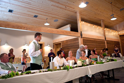 Wedding Toast Interior