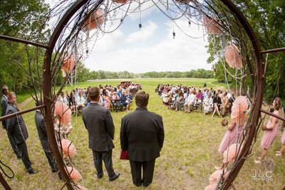 Meadow Wedding at Prairiewood